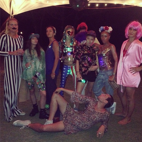 Cara Delevingne's 21st birthday party celebrations revealed