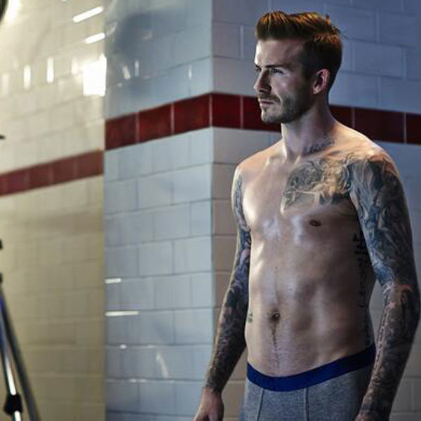 David Beckham is back in his underwear for H&M