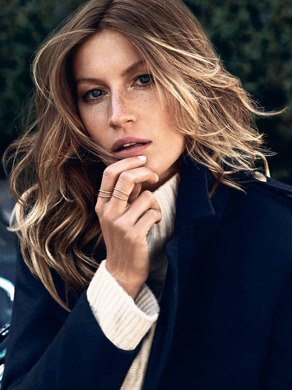 Gisele Bundchen sizzles as H&M's Autumn Winter 2013 campaign star