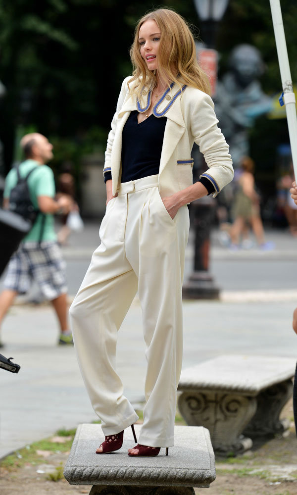 InStyle cover star Kate Bosworth gives a lesson in New York summer style