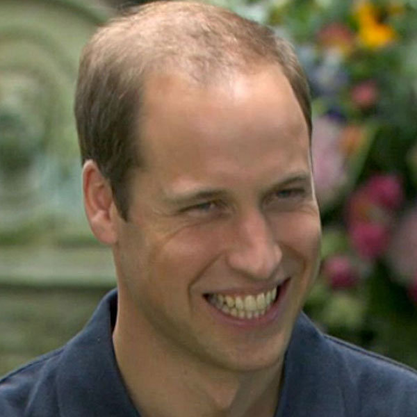 Prince William calls George 'a little rascal' in his first interview since son's birth