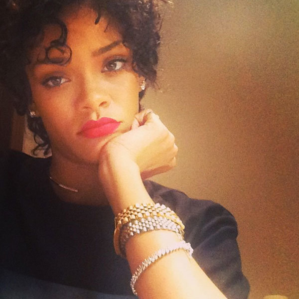 Rihanna reveals dramatic new hairstyle