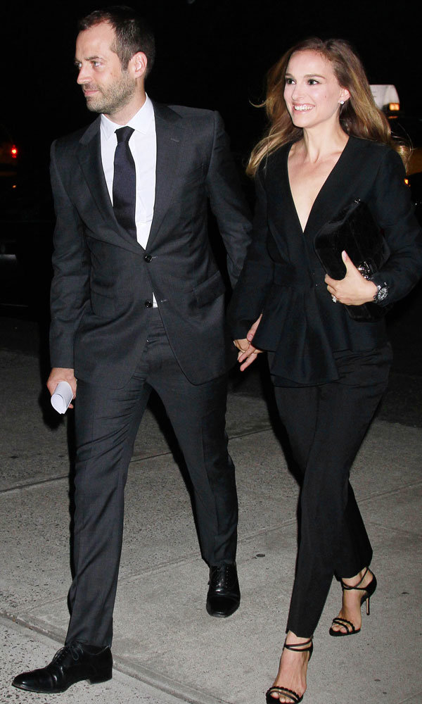 Natalie Portman And Benjamin Millepied Make A Stylish Duo At Gala Dinner