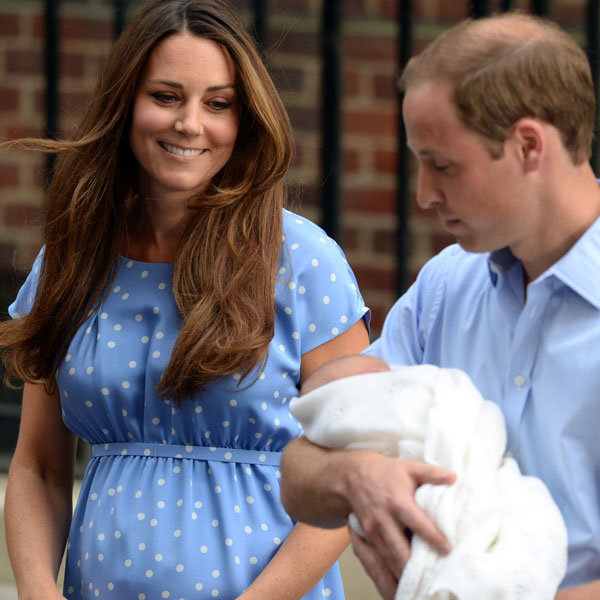 Prince William and Kate Middleton visit Princess Diana's family