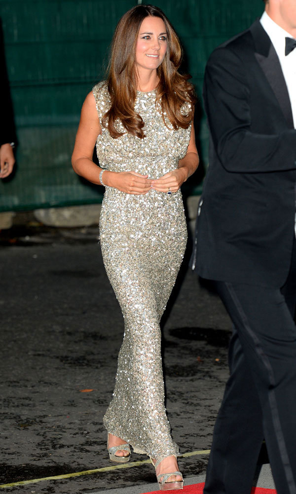 Kate Middleton Shines The Brightest In Silver At Awards Ceremony
