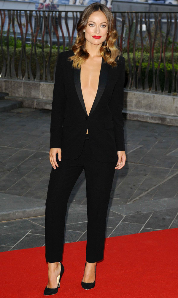 Olivia Wilde wows at the Rush film premiere in London