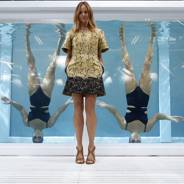 Stella McCartney Makes A Splash At LFW Adidas Presentation