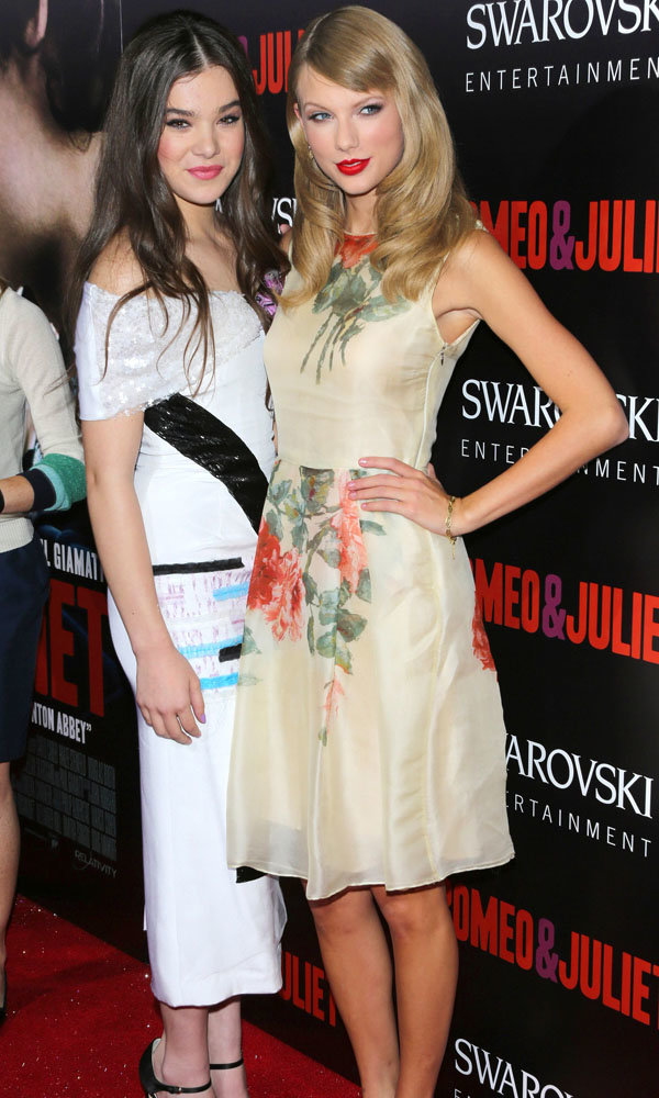 Taylor Swift And Hailee Steinfeld Hit The Romeo & Juliet Red Carpet