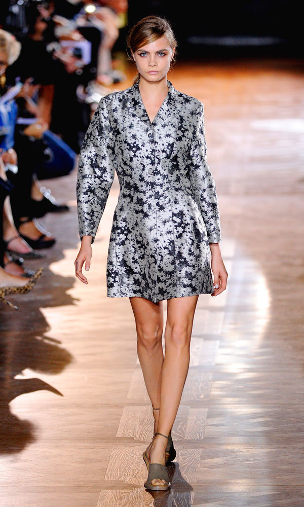 Cara Delevingne Kicks Off Paris Fashion Week At Stella McCartney SS14