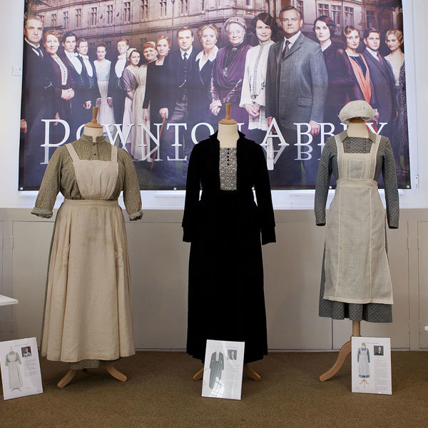 Downton Abbey costumes go on display