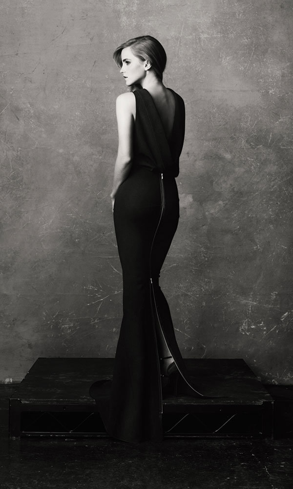 Emma Watson Does Grown-up Glamour In Victoria Beckham Gown
