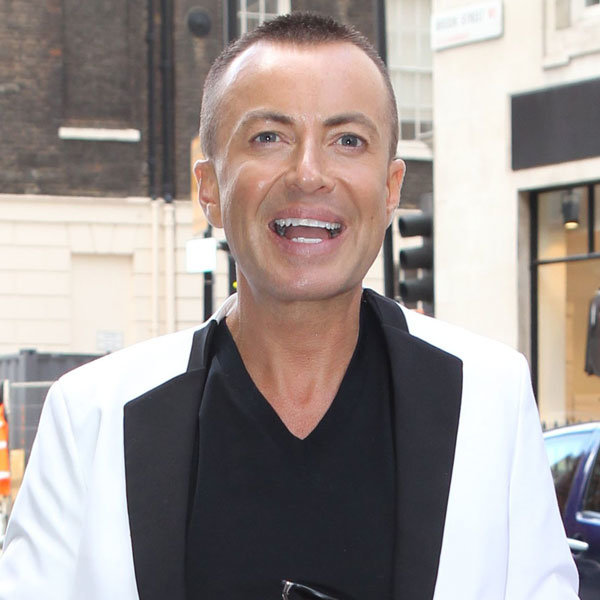 Julian Macdonald is confirmed as a contestant for this year's Strictly Come Dancing