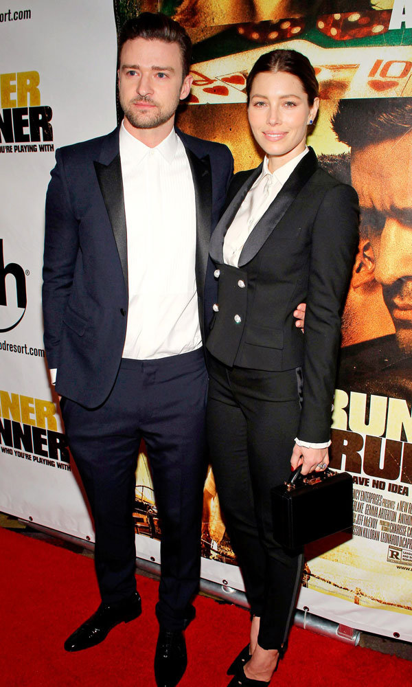 Jessica Biel And Justin Timberlake Do His And Hers Tailoring