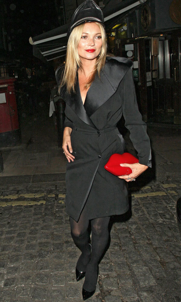 Kate Moss And Rosie Huntington-Whiteley Do Glam LBDs