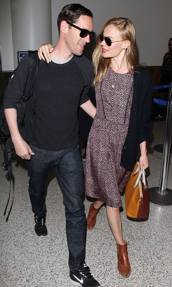 Kate Bosworth and Michael Polish step out as a married couple!