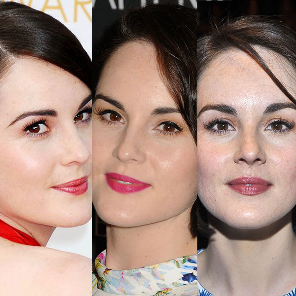Michelle Dockery Is Our Classic Lipstick Crush