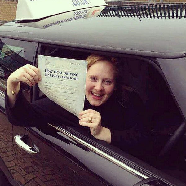 Adele Aces Her Driving Test... And Isn't Recognised By A Soul