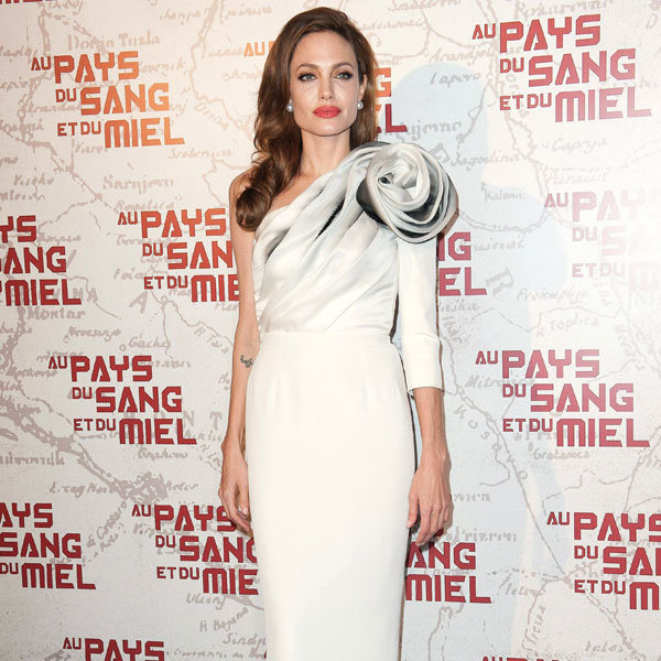 Angelina Jolie Is Giorgio Armani's Perfect Clothes Horse... Here's Why
