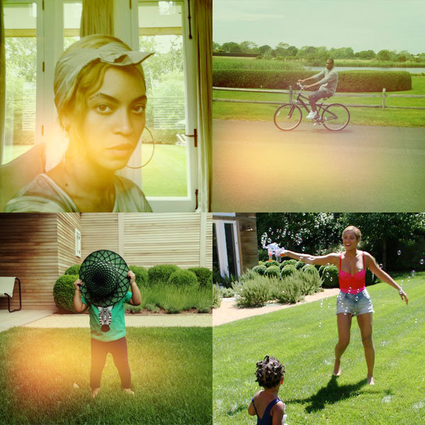 Beyoncé, Jay-Z And Blue Ivy Enjoy Dreamy Family Trip To The Countryside