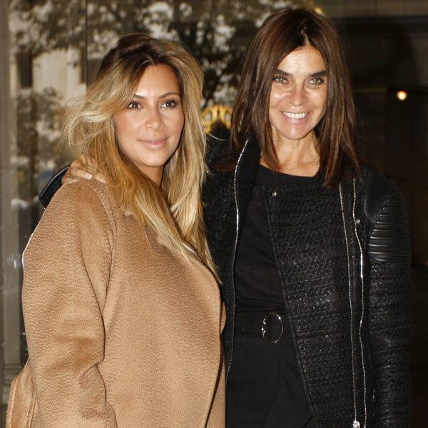 Carine Roitfeld Defends THAT Kim Kardashian And Karl Lagerfeld Collaboration