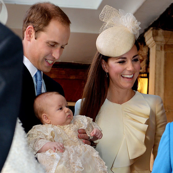 Kate Middleton Looks Gorgeous In McQueen At Prince George's Christening
