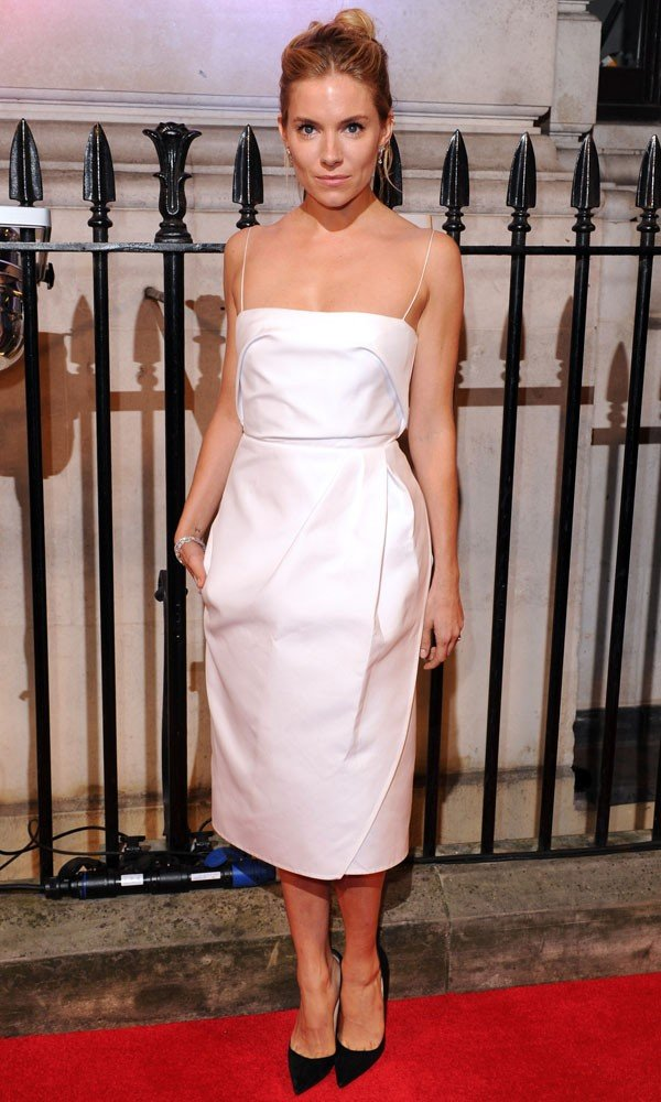 Sienna Miller Leads The Fashion Pack At BFI Charity Gala