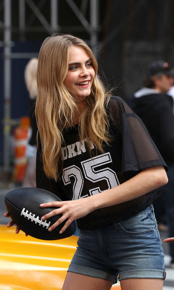 Cara Delevingne Returns To Front Star-Studded DKNY Campaign