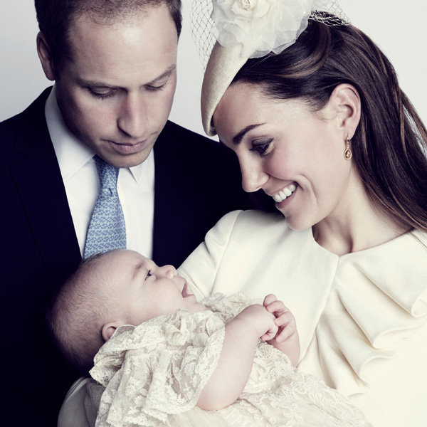 Kate Middleton And Prince George Smile Together In New Christening Picture