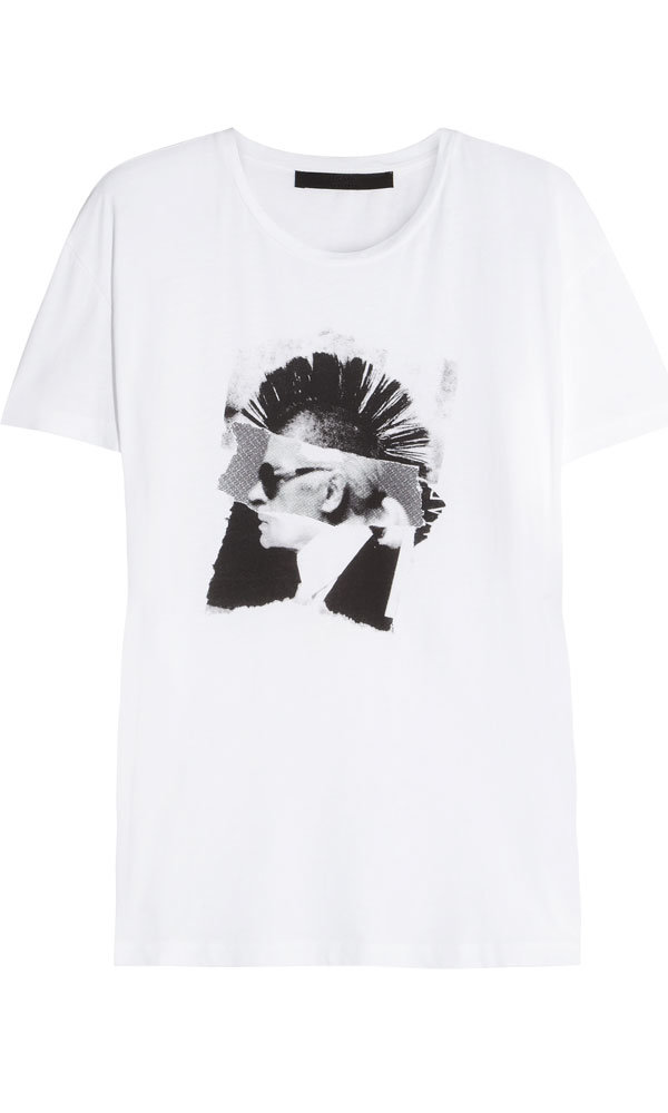 Karl Lagerfeld Gets A Punk Makeover