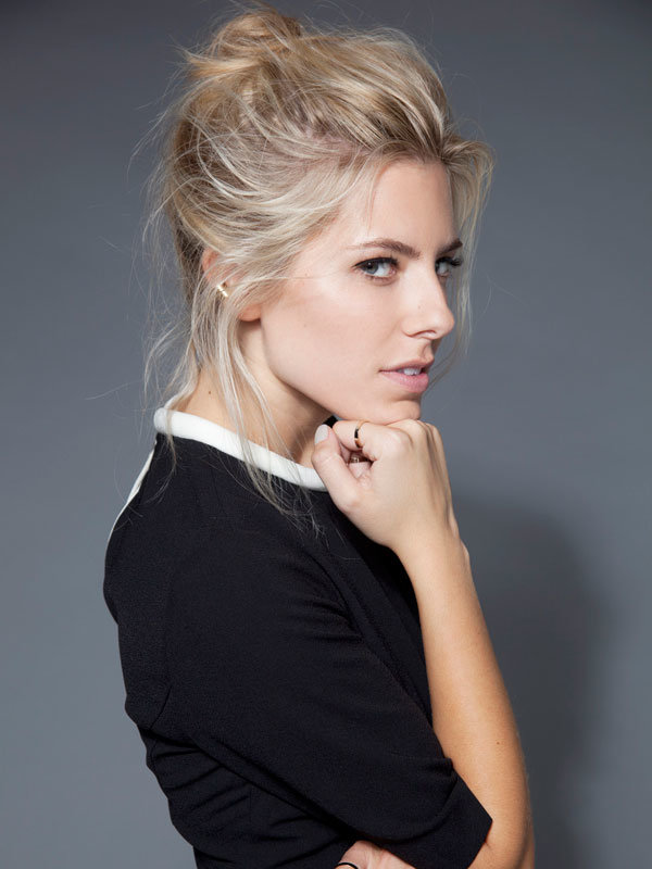 Mollie King Follows In Alexa Chung's Fashion Footsteps