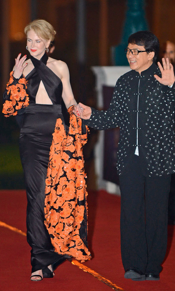 Nicole Kidman Dares To Bare In Revealing Gown At Chinese Oscars