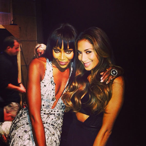 Nicole Scherzinger And Naomi Campbell Team Up In London