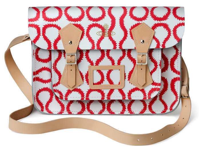 Vivienne Westwood's Collection For The Cambridge Satchel Company Has Arrived