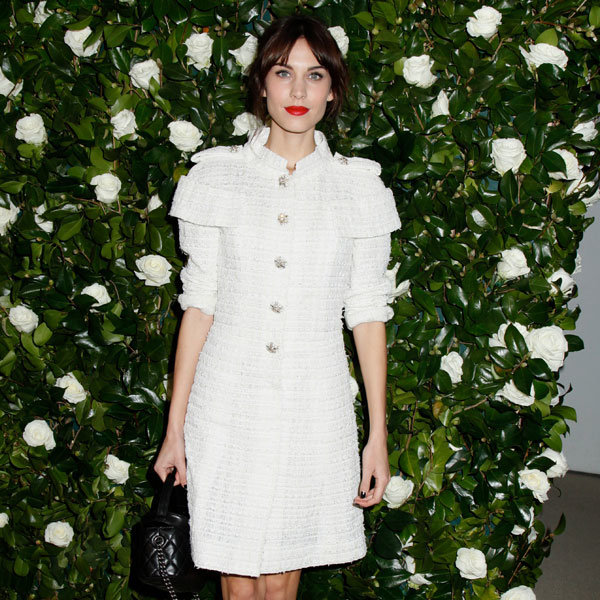 Alexa Chung Sees In Her 30th Birthday In Classic Chanel