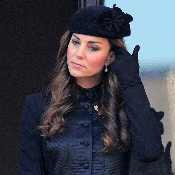 Kate Middleton Looks Regal In Temperley London For Remembrance Day Service