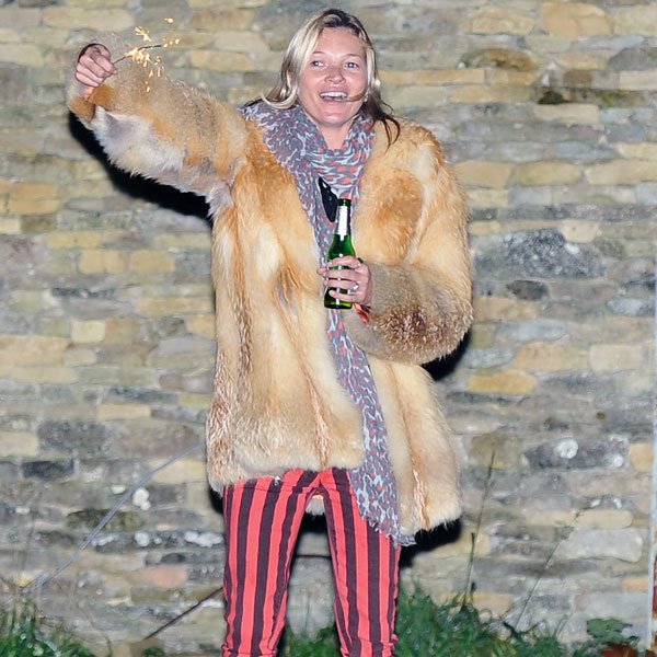 Kate Moss Reminds Us Why We're All Dying To Be Her Party Pal