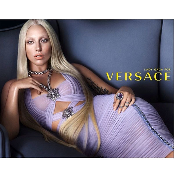 Lady Gaga For Versace: See The Popstar Muse In Action