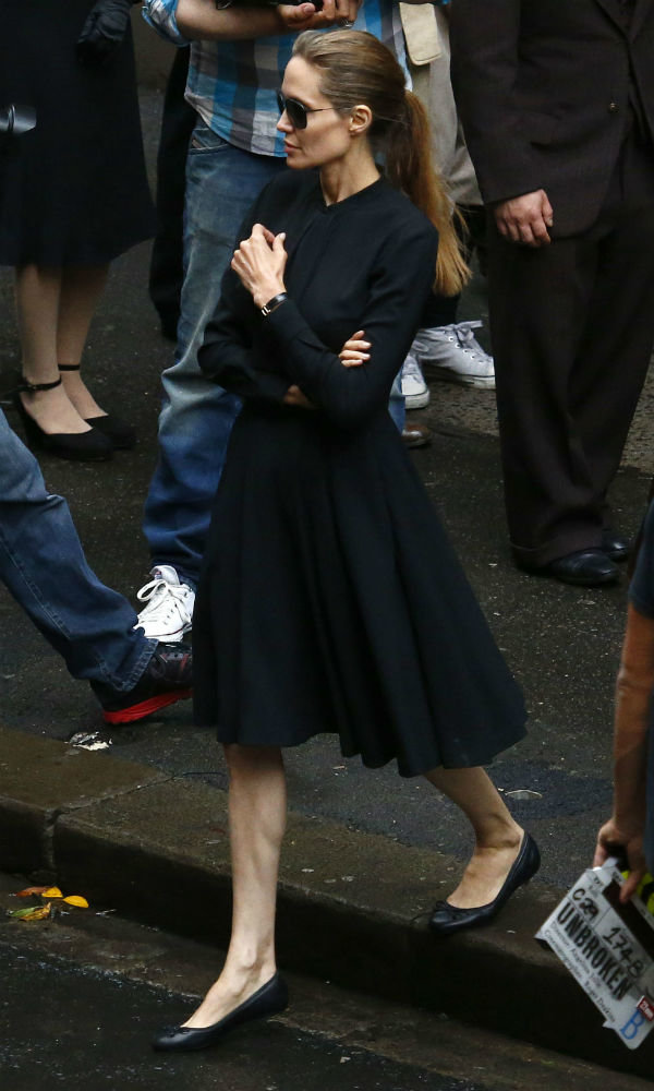 We're Officially Obsessed With Angelina Jolie's Workwear Wardrobe