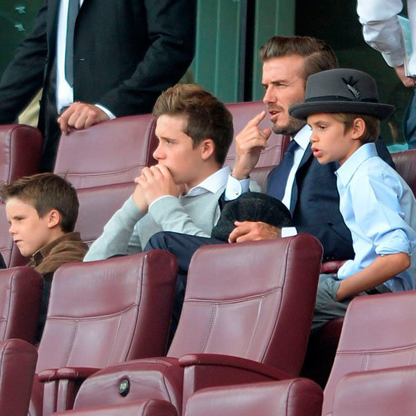 Victoria And David Beckham's Success Rubs Off On Their Son