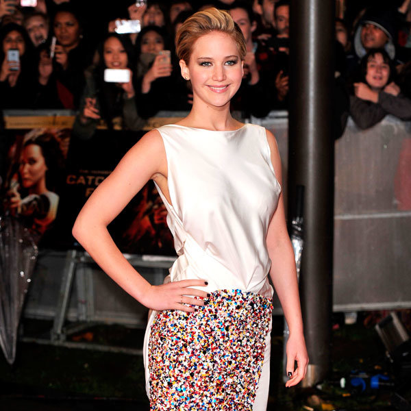 Jennifer Lawrence Plays Down Her Own Engagement...