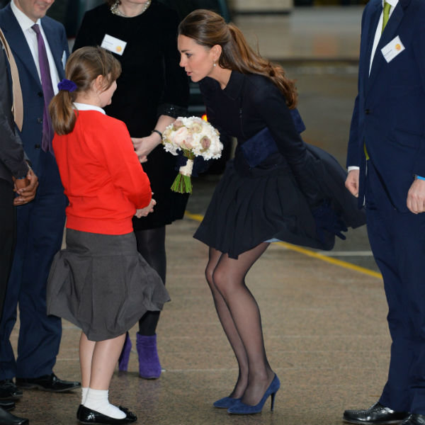 Kate Middleton Has Another Great Day In Orla Kiely