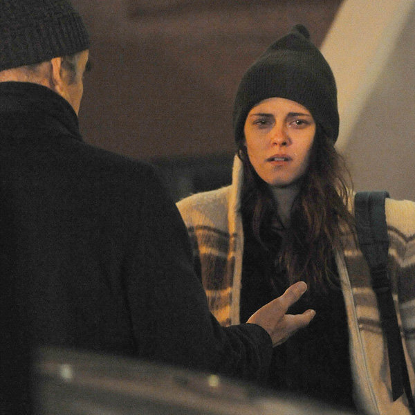 Kristen Stewart Gets Teary-Eyed On The Set Of Her New Movie