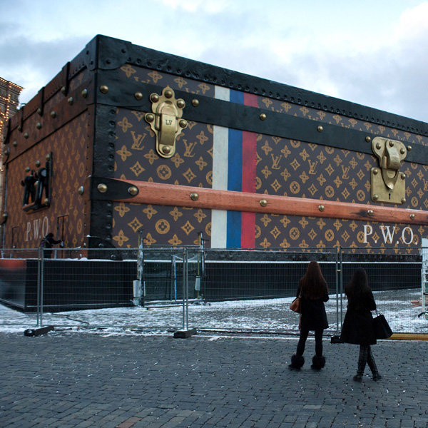 Louis Vuitton Causes Controversy In Moscow