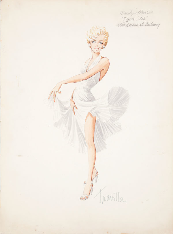 Vintage Marilyn Monroe Sketches Go To Auction… See Them First