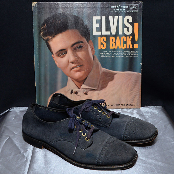Elvis Presley's Blue Suede Shoes Are Bought At Auction For A Whopping Sum