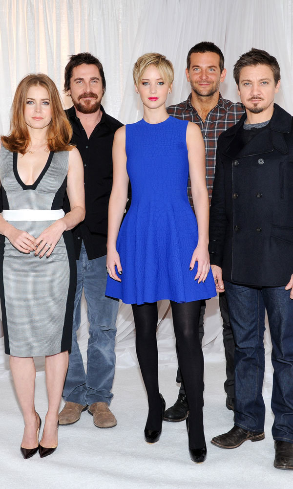 A Lesson In How To Upstage Your Co-Stars At A Photo Call, By Jennifer Lawrence