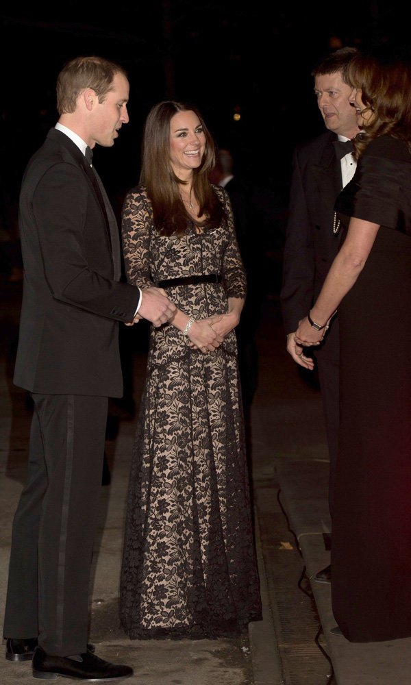 Kate Middleton Wears Her Favourite Dress For Date Night With Prince William