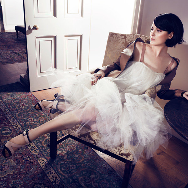 Michelle Dockery Is InStyle's January Cover Star