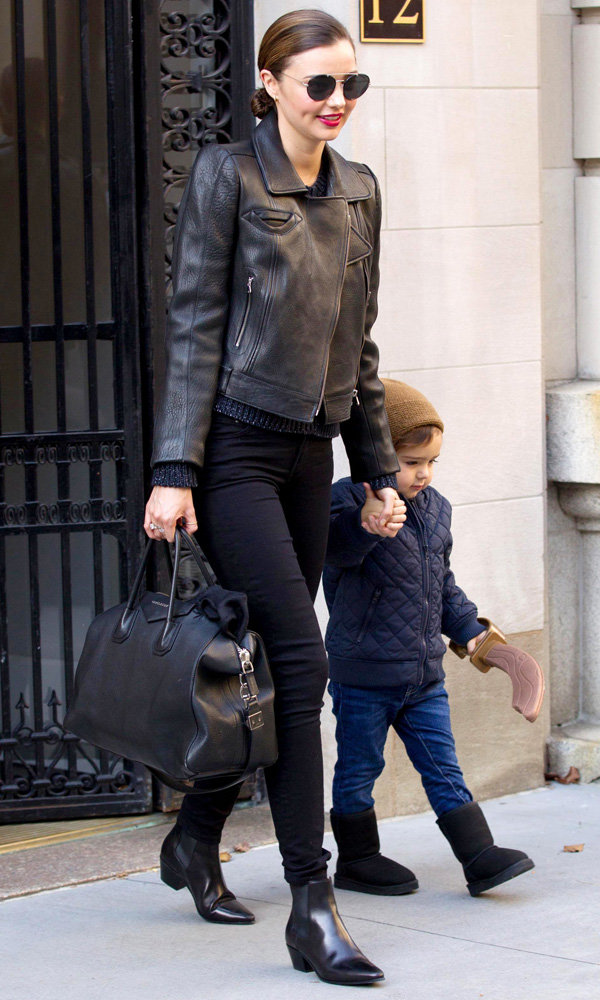 Miranda Kerr Takes Flynn On A Family Day Out With Orlando Bloom