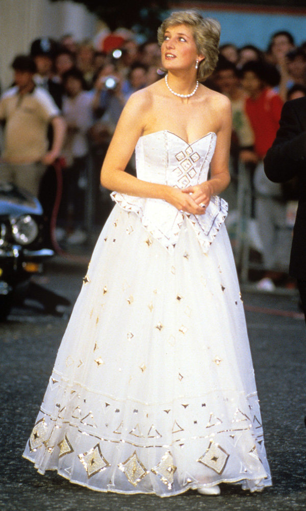 Princess Diana's 'Most Romantic' Gown Is Sold For £102,000